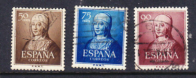 Spain 1951 Isabella the Catholic Issues Used