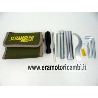 Set Equipment Keys Toilet Bag Tools Ducati Scrambler 800 2015