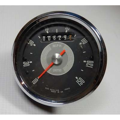 Genuine Smiths Grey Face Speedometer 0-150MPH Excellent Condition Only 629 Miles