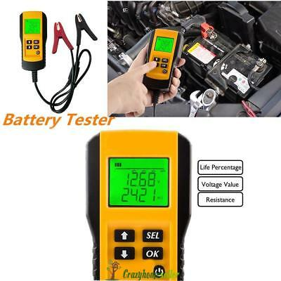 New LCD Automotive 12V Car Battery Load Tester auto Vehicle Battery Analyzer AU
