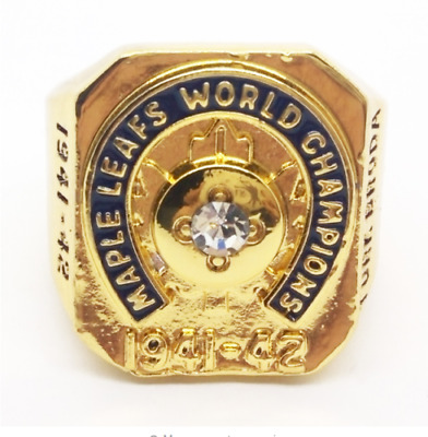 1941-1942 Toronto Maple Leafs Stanley Cup Championship Rings Us Sizes 8-13