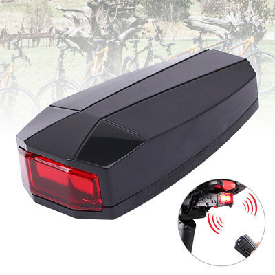 FE06 Bike Bicycle Tail Rear Light Wireless Remote Control Anti Theft Alarm Secur