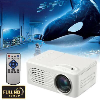 33EE 6000 Lumens LCD Video Projector Indoor Outdoor Premium Mini LED Projector