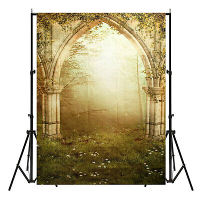 [NEW] Vinyl Forest Realistic Effect Scenic Photography Backdrop Studio Prop Phot