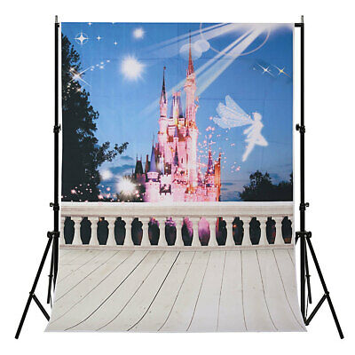 [NEW] 5X7FT Portray Dream Fairy Tale Castle Backdrop Photography Prop Studio Bac