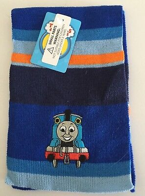 Kids Thomas the Tank Engine Acrylic Knitted Scarf 3-7 years