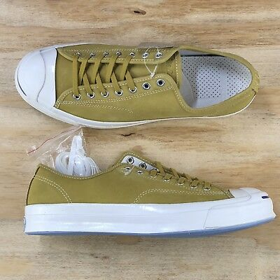 10b6dc834dd Converse Jack Purcell Signature Ox Gold Yellow Low Top Casual Shoe 153588C  Size