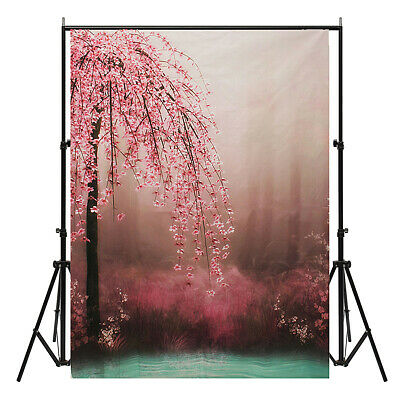 [NEW] 7x5ft Romantic Flower Vinyl Photography Background Photo studio Backdrop P