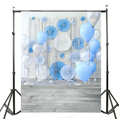 [NEW] 3x5ft Balloon Wall Baby Photography Vinyl Background Board Photo Studio Dr