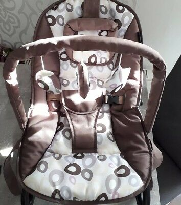 Baby-Plus Babywippe Bella brown/circle
