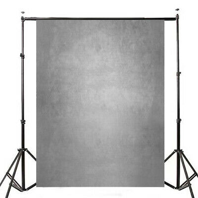 [NEW] 5x7ft Gradient Gray Photography Photo Vinyl Background Studio Backdrop Pro