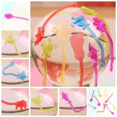 50PCs Elastic Sticky Slap Hands Palm Toy Kid Child Party Favors Gift