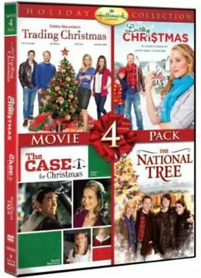 Hallmark Holiday Collection 4Movie Trading Christmas DVD disc 2 0883476093840
