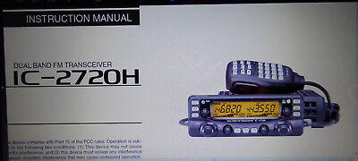 ICOM IC-2720H High-Power, Dual-Band 2m+70cm, Transceiver + W'band Rx 118-999.99