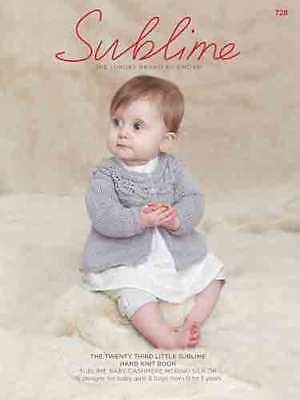 702df3865 THE TWENTY FIRST Little Sublime Hand Knit Book 713 - £7.95