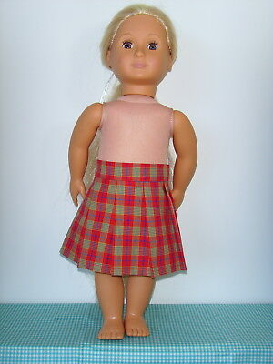 Pleated Skirt for Our Generation + O G Hair Grow Dolls