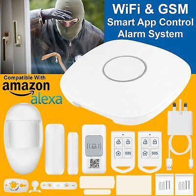 Wireless Smart WiFi GSM Cloud Home Security Alarm System Driveway Motion Sensor
