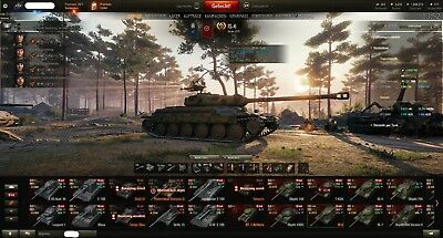 -WOT- World Of Tanks account EU top Tanks Level 10 Top WN8 2400