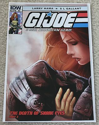 G.i. Joe 214 Fabio Valle Re Exclusive Variant Death Of Snake-Eyes 212 213 Gi 246