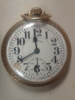 My Father's 1940s Illinois Bunn Special Railroad pocket watch