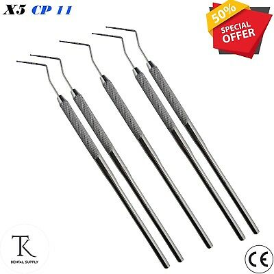 Surgical Laboratory Diagnostic Instruments Probe CP # 11 Dental Examination Sets