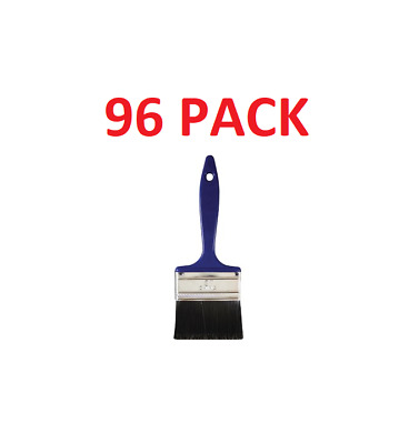 """96 3"""" Polyester Utility Paint Brush ... Bulk Package!!!! Free Shipping!!"""