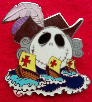 Jack Nightmare Before Christmas Holiday Mystery Disney Pin Columbus Day