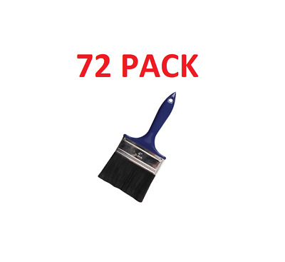 """72 4"""" Polyester Utility Paint Brush ... Bulk Package!!!! Free Shipping!!"""