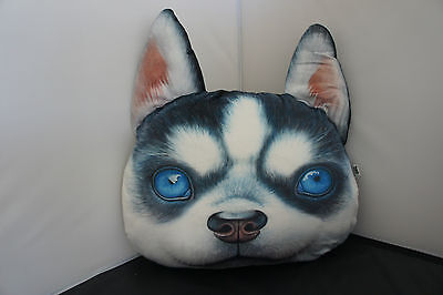 Vintage 3d Dog Pillow Stuffed Plush Soft Toy Cushion Home Decor
