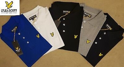Lyle And Scott Men's Short Sleeve Collared Polo Shirts