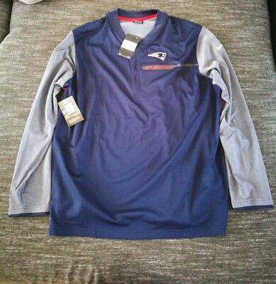 Nike NFL Football Oberteil Gr.XXL NEU on field New England Patriots Sweat Shirt