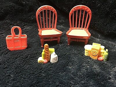 Fisher-Price Loving Family Kitchen Furniture Accesories Dollhouse Playing
