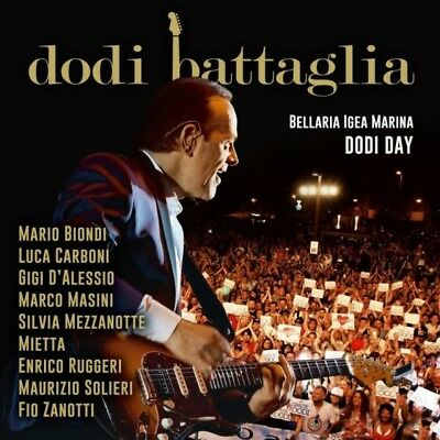 Dodi Battaglia - Dodi Day Bellaria Live -2Cd+Book