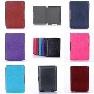 Case for Amazon Kindle Paperwhite 123 1st 2nd 3rd Generation PU Leather Cover