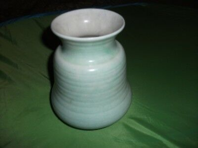 George Clews Vintage Vase-Pale Green-Outside Exc Cond-Inside Is Age Worn-Lovely