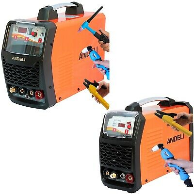 Plasma Cutter/tig/mma Multipurpose Dc Inverter Welder 3 (2) In 1 + Accessories