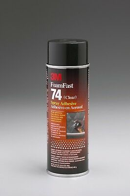 3M foam fast 74 clear adhesive clear (NET WT 16.9 oz (1.05 lb)/ 480 super strong