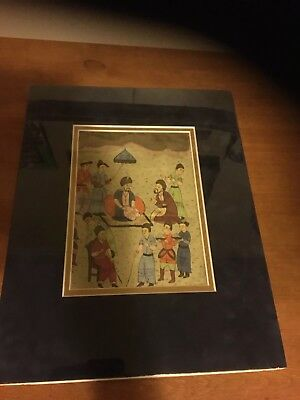 Ottoman Empire Water Color Painting 18/19 Century