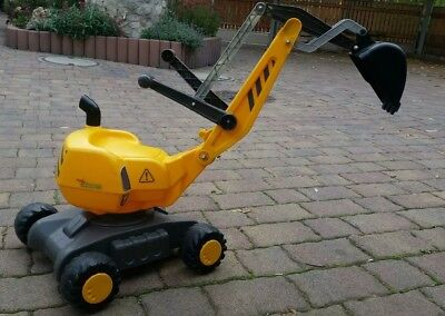 Rolly toys Bagger mit Schubkarre Rolly Digger