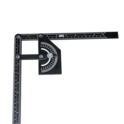 [NEW] Angle Ruler Angle Protractor Stainless Steel 180 Angle Finder Measure Rule