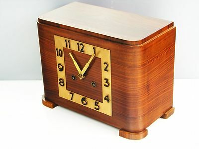 Pure Beautiful  Art Deco  Kieninger   Chiming Mantel Clock