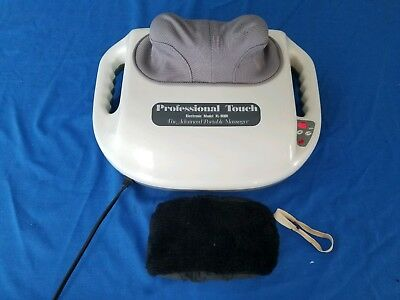 Professional Touch Electronic Model XL-9000 Advanced Portable Massager Shiatsu