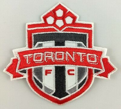 Toronto FC Football Club Soccer Patch Badge Embroidered Iron On Applique