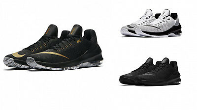 the latest 4da94 ca9e4 Scarpe Da Basket Nike Air Max Infuriate 2 Low 908975 001 100 090 Nero Bianco  Oro