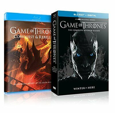 NEW - Game of Thrones: S7 (Conquest&Rebellion + Blu-Ray)