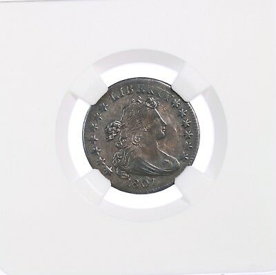 1807 Draped Bust 10C JR-1 NGC Certified AU Details Rev Scratched , Cleaned