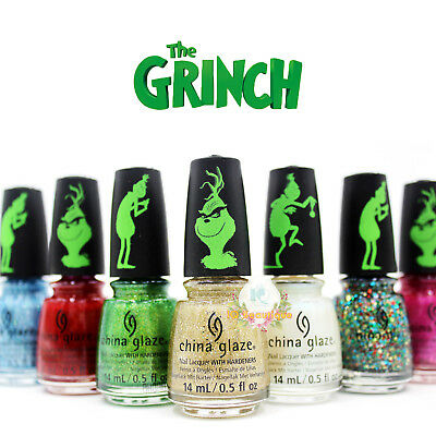 China Glaze Nail Polish The Grinch Winter 2018 Collection Full Size Pick Any