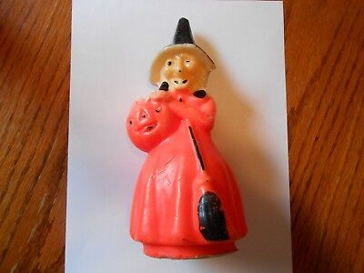 Halloween Gurley 8.25 Inch Witch Candle Number One