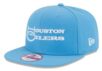 b1b80565816b81 HOUSTON OILERS NEW Era 9FIFTY NFL Historic Baycik Snapback Hat ...