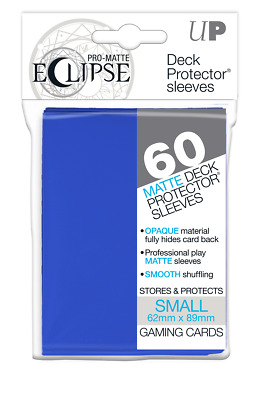 PRO-Matte Eclipse Pacific Blue Small Deck Protector sleeve 60ct